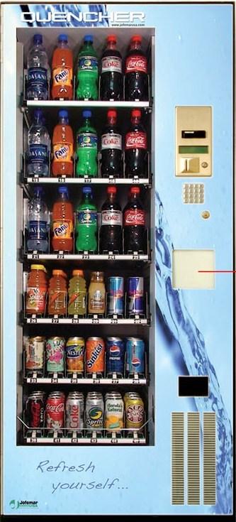Jofemar Quencher Beverage Vending